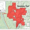 Dewdney Trail Map